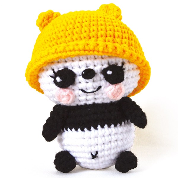 Kit Crochet Amigurumi - Nana le Panda - Photo n°2