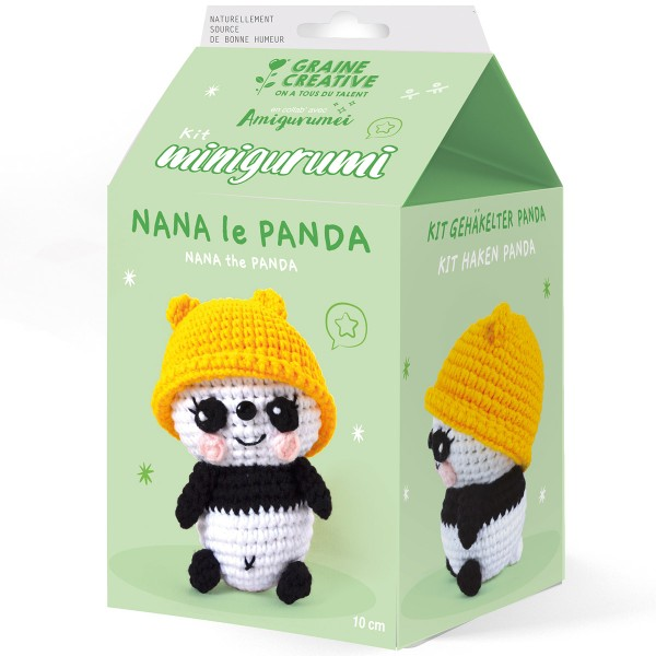 Kit Crochet Amigurumi - Nana le Panda - Photo n°1
