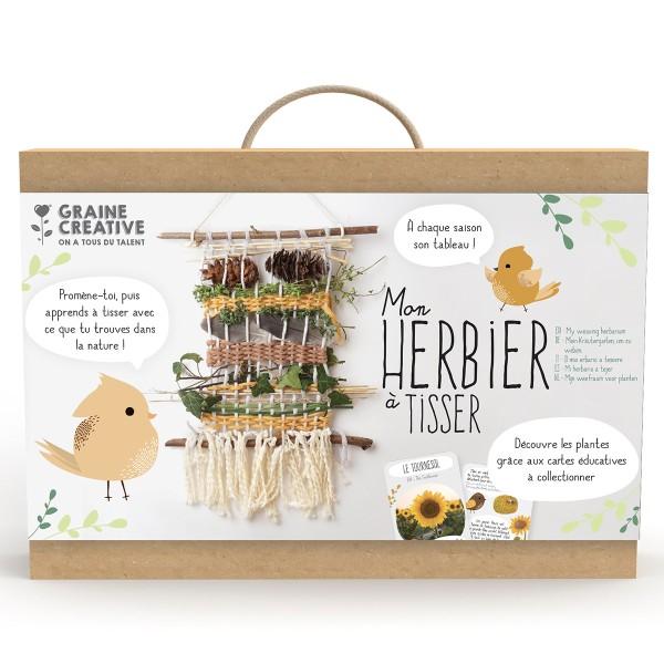 Kit Métier à Tisser - Mon Herbier à tisser - Photo n°5