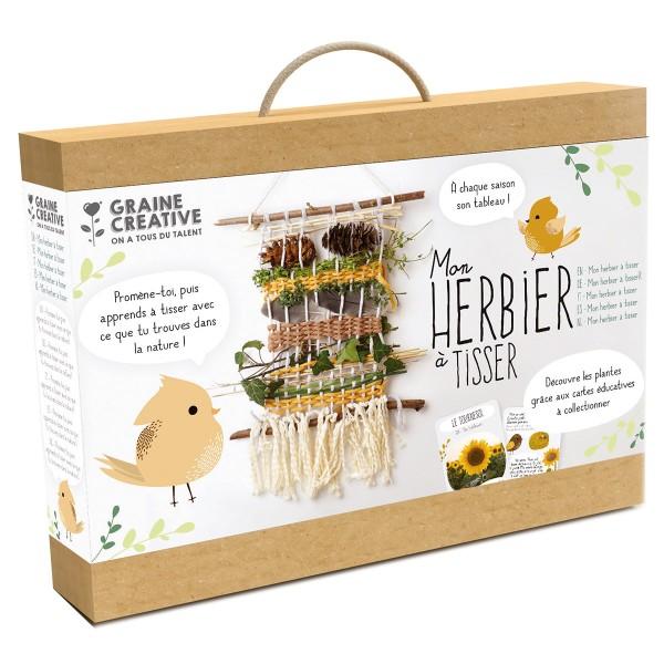 Kit Métier à Tisser - Mon Herbier à tisser - Photo n°1