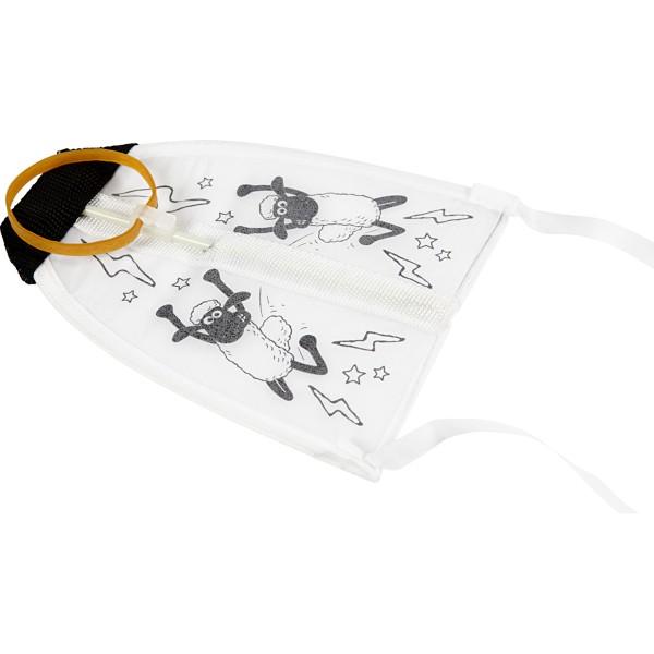 Kit activité manuelle Shaun le Mouton - Mini cerf-volant à décorer - 17 x 14 cm - 1 pcs - Photo n°4