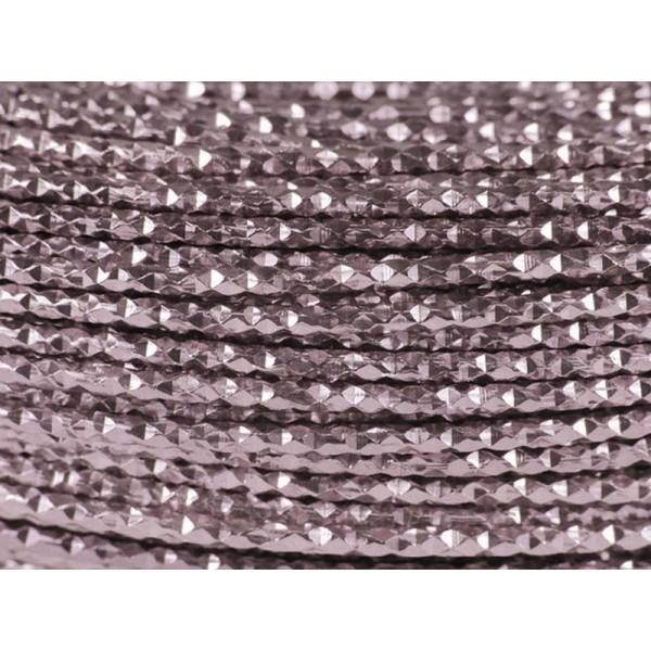 10 Mètres fil aluminium hammer rose ancien 2mm - Photo n°1