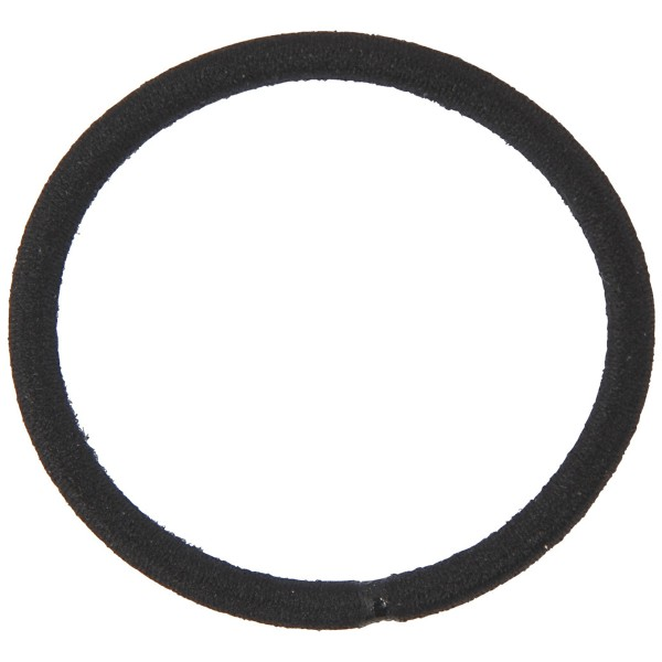 Lot d'élastiques à cheveux - Noir - 45 mm - 10 pcs - Photo n°2
