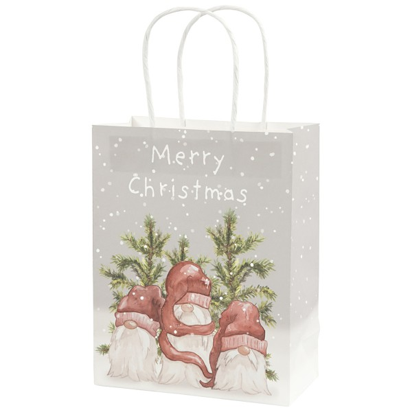 Sac en papier - Père Noël - 18 x 23 cm - 3 pcs - Photo n°1