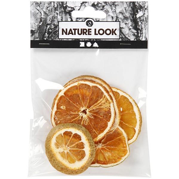 Tranches d'oranges séchées - 40 à 60 mm de diamètre - 5 pcs - Photo n°2