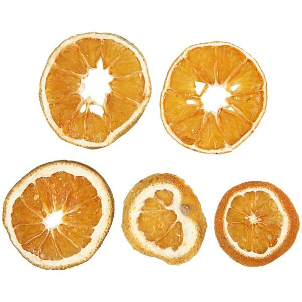 Tranches d'oranges séchées - 40 à 60 mm de diamètre - 5 pcs - Photo n°1