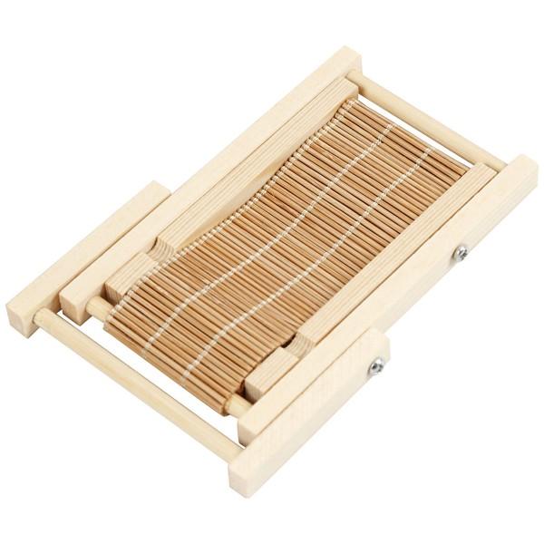 Transat miniature en bois - 9,5 x 7,5 cm - 1 pce - Photo n°2