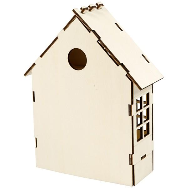 Maison en bois à assembler - 24 x 19 x 6,5 cm - Photo n°3