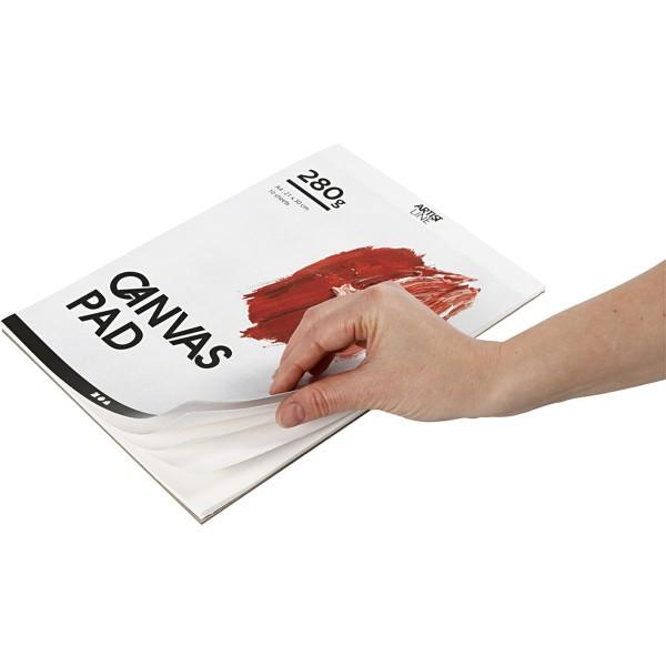 Bloc de papier Canvas - A4 - 10 feuilles - Photo n°2