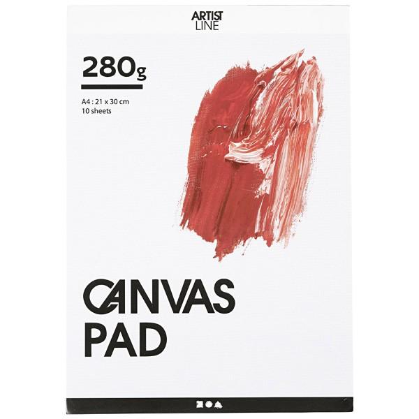 Bloc de papier Canvas - A4 - 10 feuilles - Photo n°1