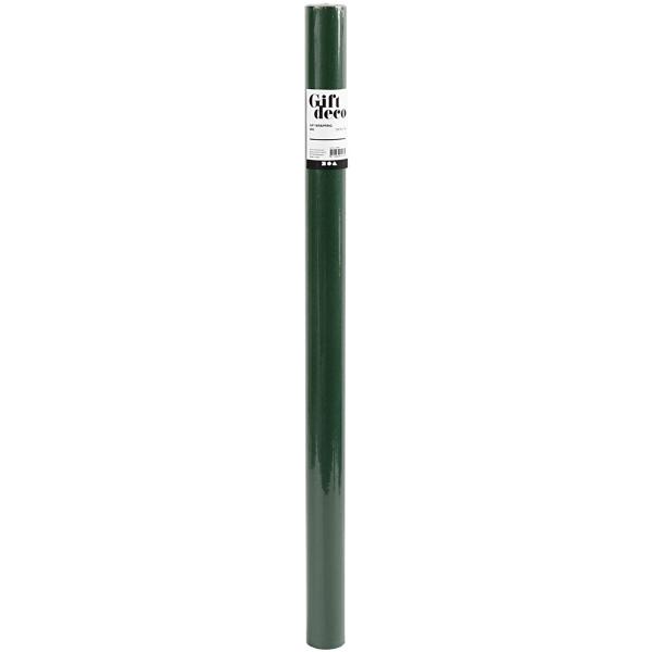 Rouleau de Papier cadeau - Vert - 50 cm x 5 m - Photo n°2