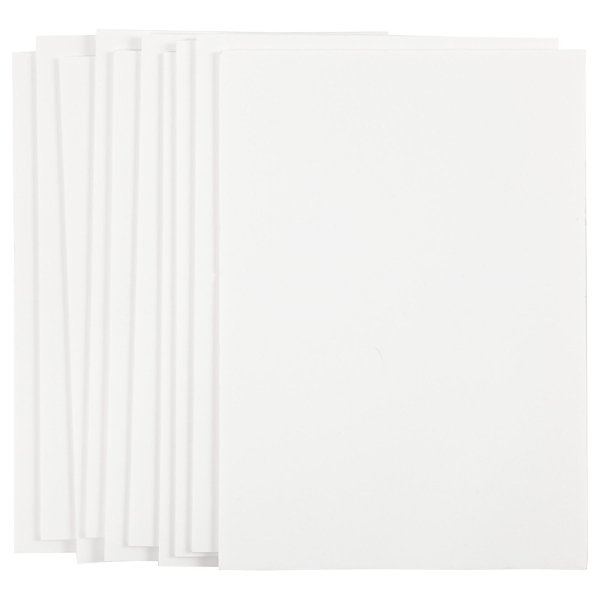 Carton plume A4 blanc - 3 mm - 10 pcs - Photo n°2