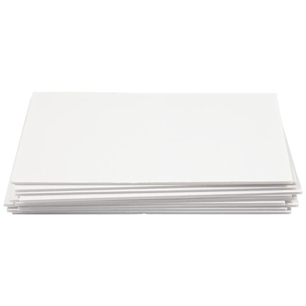 Carton plume A4 blanc - 3 mm - 10 pcs - Photo n°3