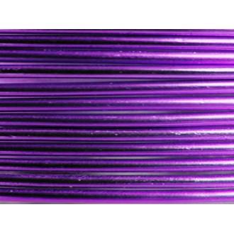2 Mètres fil aluminium lilas 1,5mm