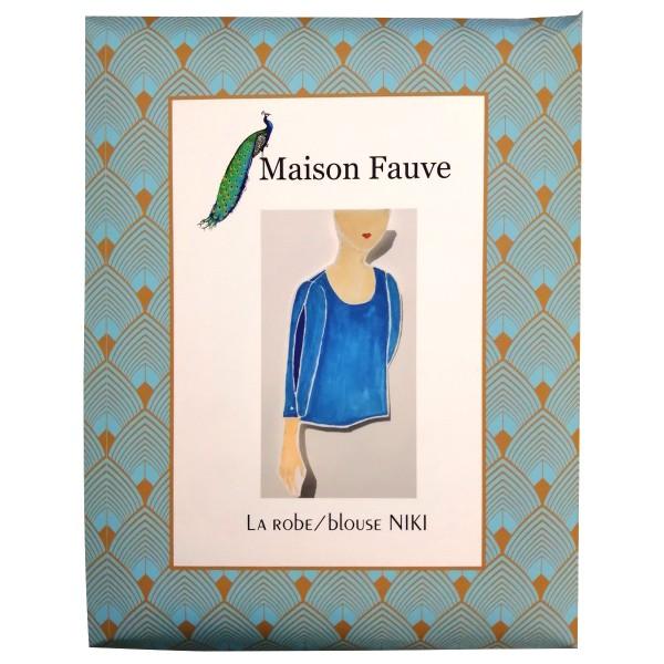 Patron Maison Fauve - Robe et Blouse Niki - Tailles 34 à 56 - Photo n°1