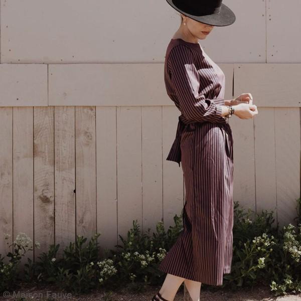 Patron Maison Fauve - Robe et Blouse Sierra - Tailles 34 à 46 - Photo n°2