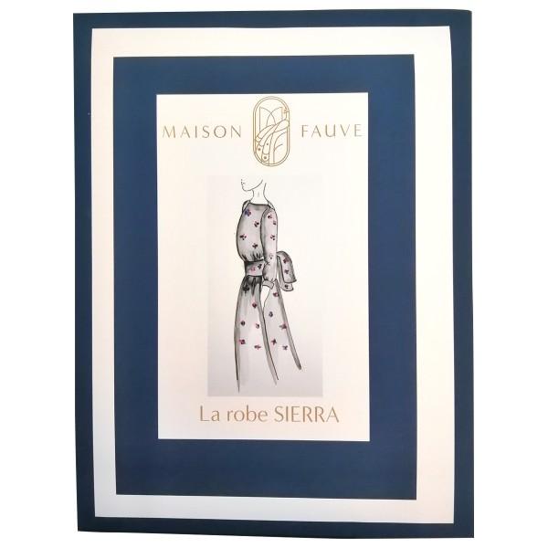 Patron Maison Fauve - Robe et Blouse Sierra - Tailles 34 à 46 - Photo n°1