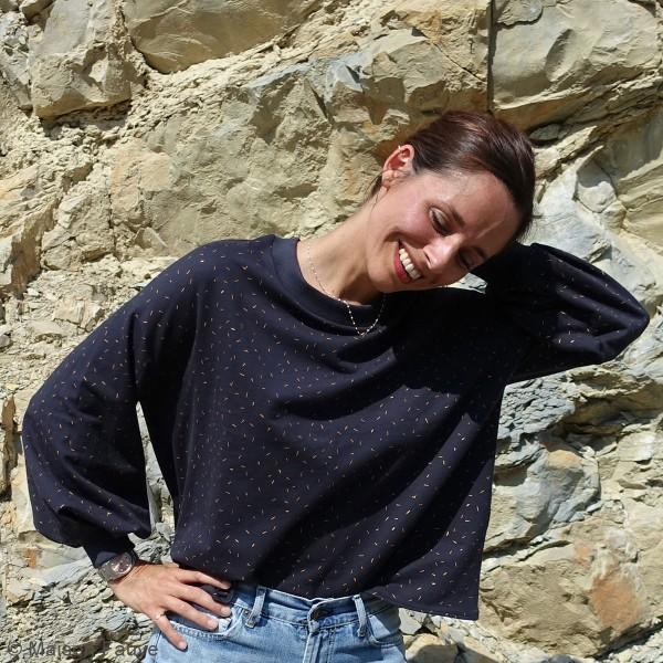 Patron Maison Fauve - Sweat Granite - Tailles 34 à 46 - Photo n°4