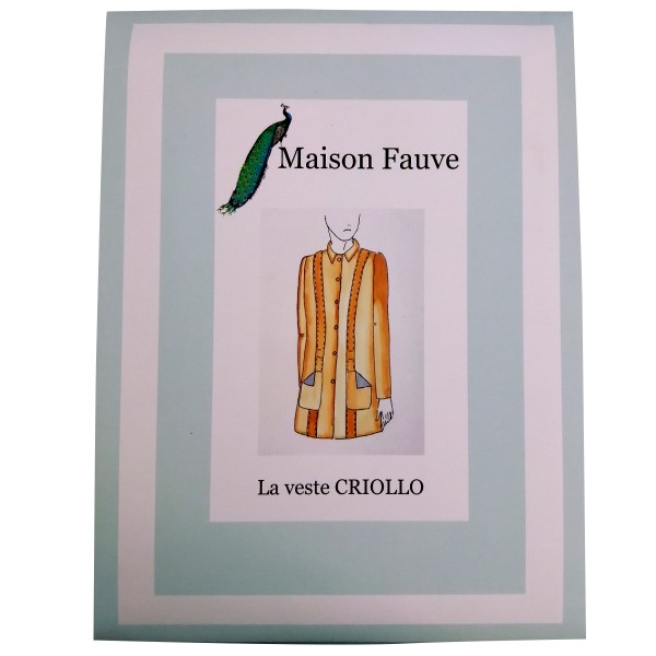 Patron Maison Fauve - Veste Sable - Tailles 34 à 46 - Photo n°1