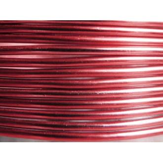 5 Mètres fil aluminium sang de boeuf 1,5mm