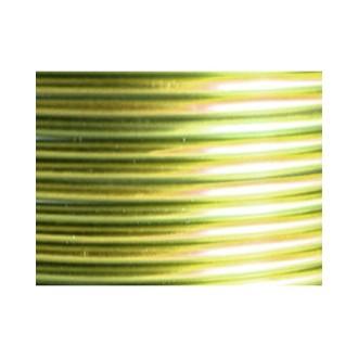 3 Mètres fil aluminium vert pomme 3mm