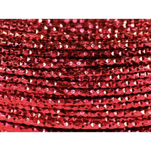 2 Mètres fil aluminium hammer rouge foncé 2mm - Photo n°1