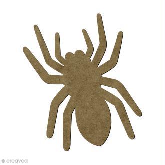 Araignée en bois - 14 x 10,5 cm