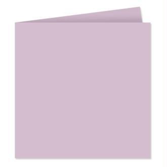 Papier Pollen carte double 160 x 160 Lilas x 25