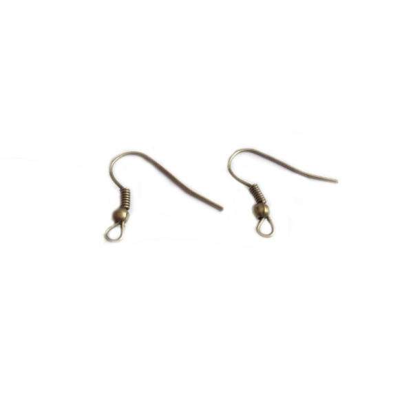 support boucle d'oreille bronze