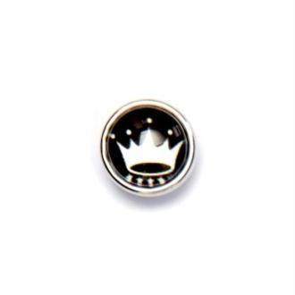 Bouton pression à clipser Mini Clixy Couronne blanche 12 mm