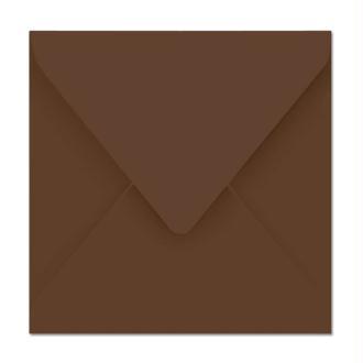 Enveloppe Pollen 165 x 165 Cacao x 20