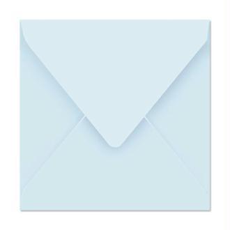 Enveloppe Pollen 165 x 165 Bleu x 20