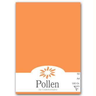 Papier Pollen A4 50 feuilles - Clémentine