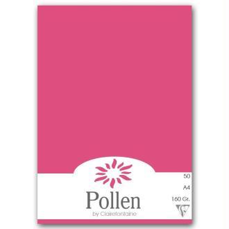Papier Pollen A4 50 feuilles Rose fuchsia