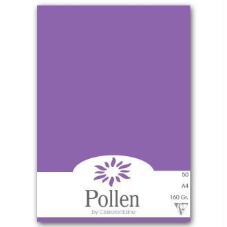 Papier Pollen A4 50 feuilles Violine