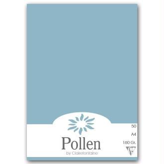 Papier Pollen A4 50 feuilles Bleu lavande