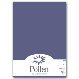 Papier Pollen A4 50 feuilles - Bleu nuit