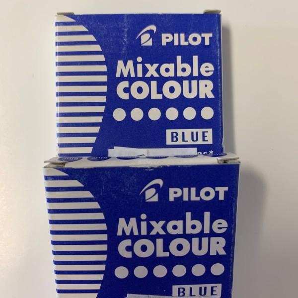 2 Lot de 6 cartouches d'encre Bleu - Photo n°2