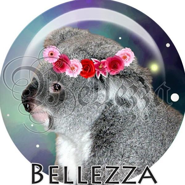 Cabochon, koala, animaux divers, animaux, plusieurs tailles disponibles - Photo n°1