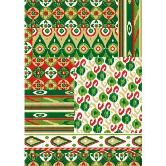 Décopatch Jaune Vert 518 - 1 feuille