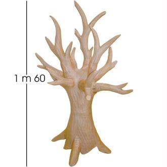 Arbre géant 3D en papier mâché 160cm