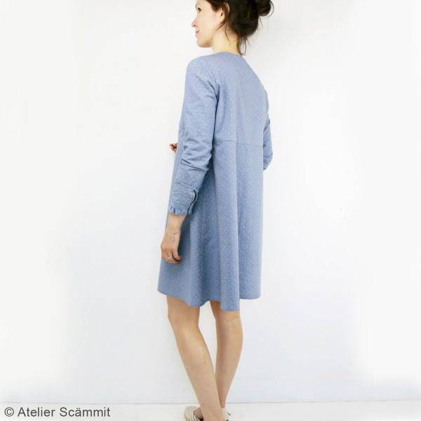 Patron couture Atelier Scammit - Blouse et Robe Zephir - Taille 34 à 48 - Photo n°2