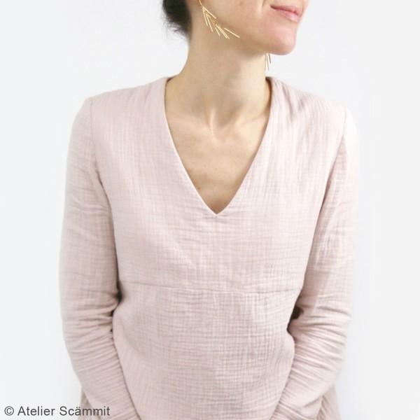 Patron couture Atelier Scammit - Blouse et Robe Zephir - Taille 34 à 48 - Photo n°3