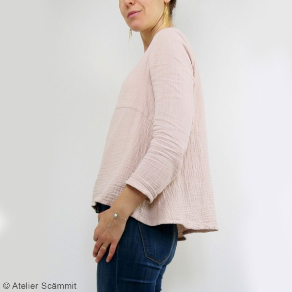 Patron couture Atelier Scammit - Blouse et Robe Zephir - Taille 34 à 48 - Photo n°5