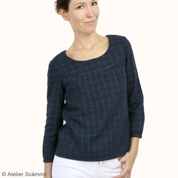 Patron couture Atelier Scammit - Blouse et Robe Artesane - Taille 34 à 48 - Photo n°2
