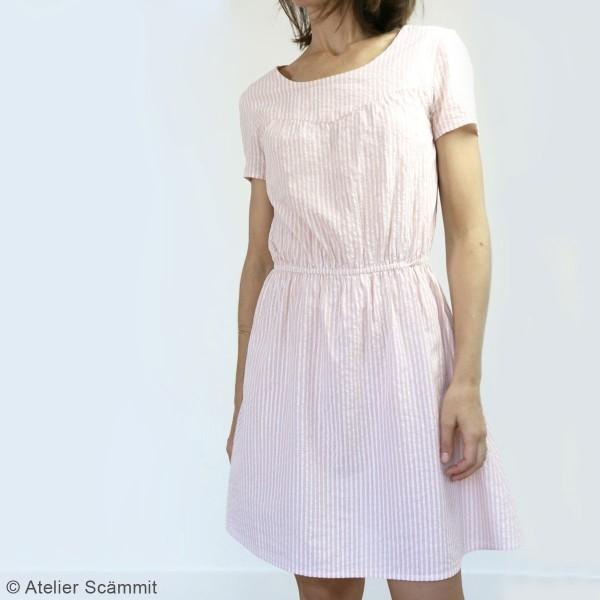 Patron couture Atelier Scammit - Blouse et Robe Artesane - Taille 34 à 48 - Photo n°4