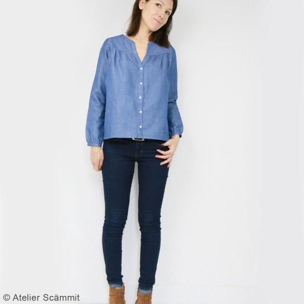Patron couture Atelier Scammit - Blouse Envol - Taille 34 à 48 - Photo n°2