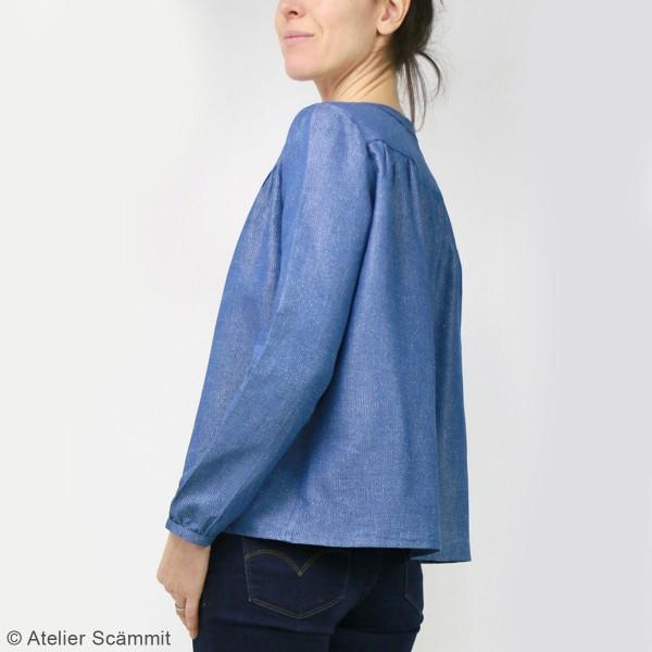 Patron couture Atelier Scammit - Blouse Envol - Taille 34 à 48 - Photo n°3