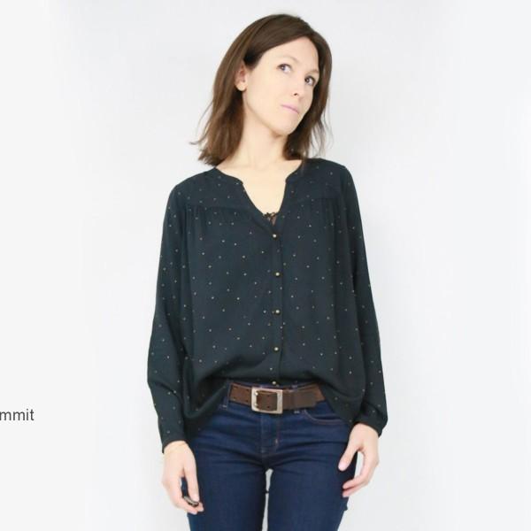Patron couture Atelier Scammit - Blouse Envol - Taille 34 à 48 - Photo n°5
