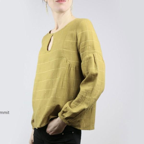 Patron couture Atelier Scammit - Blouse et Robe Petites choses - Taille 34 à 48 - Photo n°2